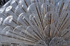 Detail of water fountain. Stock Image