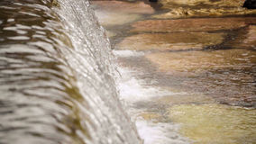 Detail of a waterfall. Stock Image