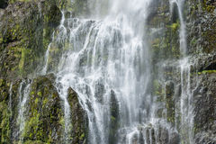 Detail of waterfall Royalty Free Stock Images