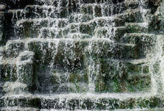 Detail of waterfall Royalty Free Stock Photography