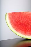 Detail of watermelon slice Royalty Free Stock Images