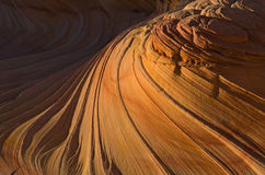 Detail of The Wave, Coyote Buttes Stock Photo