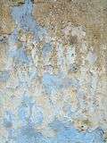 Weathered cracked plaster - grunge texture Royalty Free Stock Photo