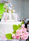 Detail of wedding cake Stock Image