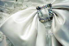 Detail wedding dress Stock Photography