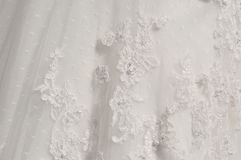 Detail wedding dresses Stock Photo
