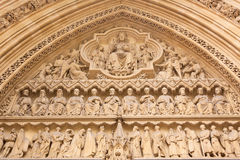 Detail of Westminster Abbey Stock Photography
