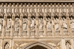 Detail of Westminster Abbey in London, UK Royalty Free Stock Photography
