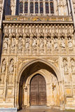 Detail of Westminster Abbey in London, UK Stock Photography