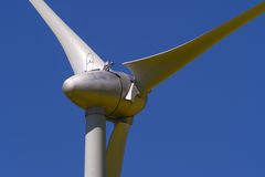 Detail of a wind energy plant Royalty Free Stock Photos