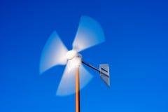 Detail of Wind Turbine Stock Photo