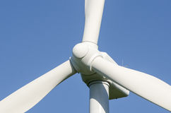 Detail of Windmills to generate wind power Stock Image