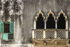 Detail of window & portals - zanzibar Stock Photography
