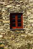 Detail of a window at a schist village Stock Photos