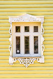 Detail of a window of a traditional house in Rostov, Golden ring,  Russia Royalty Free Stock Images