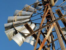 Detail of a windpump in the Cape, South Africa Royalty Free Stock Photography