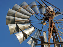 Detail of a windpump in the Cape, South Africa Royalty Free Stock Photos