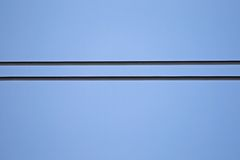 Detail of wire from power cable Royalty Free Stock Photography