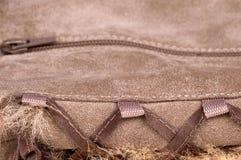 Detail of women's shoe. On white. isolated fetish Royalty Free Stock Photo