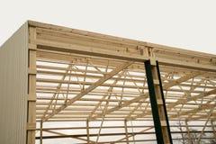 Barn wood framing Royalty Free Stock Images