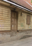 Detail of wooden architecture Royalty Free Stock Photography
