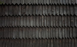Detail of wooden church in Jurgów, Poland Stock Photography