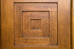Detail of wooden door Royalty Free Stock Photos