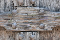 Detail of wooden door Stock Photos