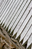 Detail of a wooden roof Stock Photo