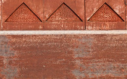 The detail of a wooden wall Royalty Free Stock Photo