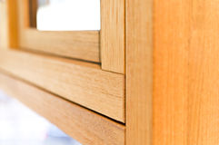 Detail for wooden window Stock Images