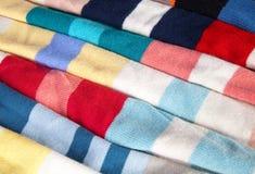 Detail of wool fabrics Stock Image