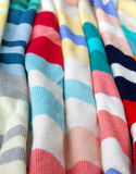 Detail of wool fabrics Stock Images