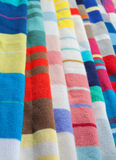 Detail of wool fabrics Royalty Free Stock Photos
