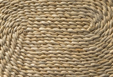 Detail of a woven basket Stock Images
