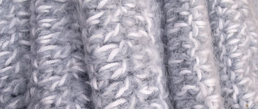 Detail Woven Scarf Texture Royalty Free Stock Image