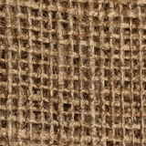 Detail woven thick clothing. Detail woven coarse brown substance Royalty Free Stock Image