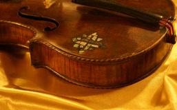 Detail. From the 300 years of violin Stock Photography