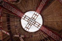 Detail of yurt Royalty Free Stock Photo