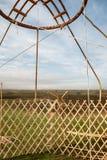 Detail of yurt Stock Images