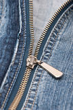 Detail of zipper Stock Images