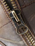 Detail of a zipper MT Royalty Free Stock Photo