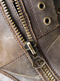 Detail of a zipper2 Stock Image