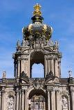 Detail of the Zwinger. A detail of the Zwinger in Dresden, Germany Stock Photo