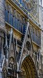 Detailansicht Notre Dame de Paris Lizenzfreies Stockfoto
