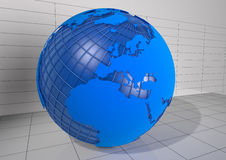 Detailed 3d Earth Render Stock Images