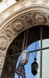 Detailed architectural arch Stock Photo