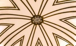 Alhambra wall detail Royalty Free Stock Image
