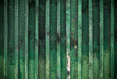 Detailed background texture of green wooden wall Royalty Free Stock Photo