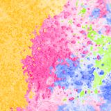 Detailed background with watercolor texture. Vector colorful watercolor texture background, abstract illustration Stock Photos